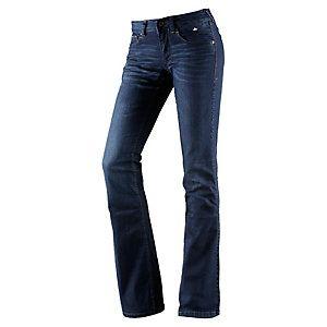 <title>Tommy Hilfiger Sophie Bootcut Bootcut Jeans Damen dark denim im Online Shop von SportScheck kaufen</title>