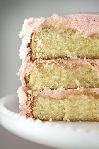 Seriously...THE best cake recipe ever. you will never buy yellow cake mix again!