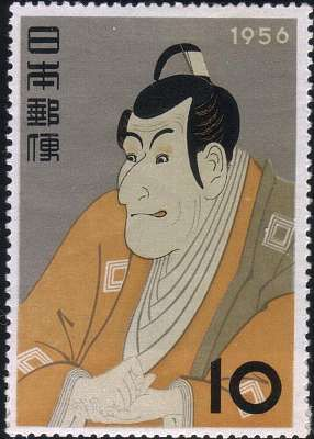 Toshusai Sharaku (17?? - 1801?) (Japanese: 東洲斎写楽)