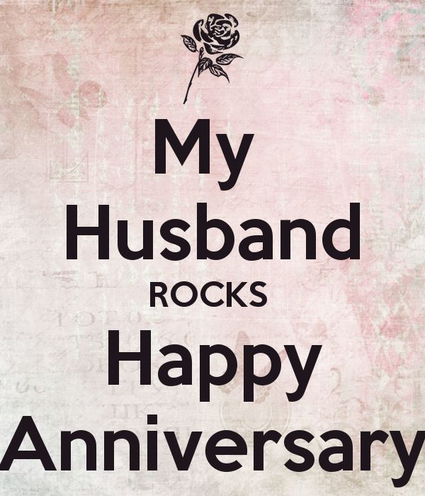 Happy Anniversary To My Husband | Wedding Inspirations