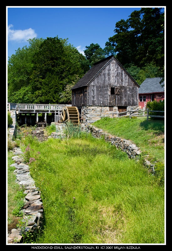 An old Grist Mill in southern R.I.