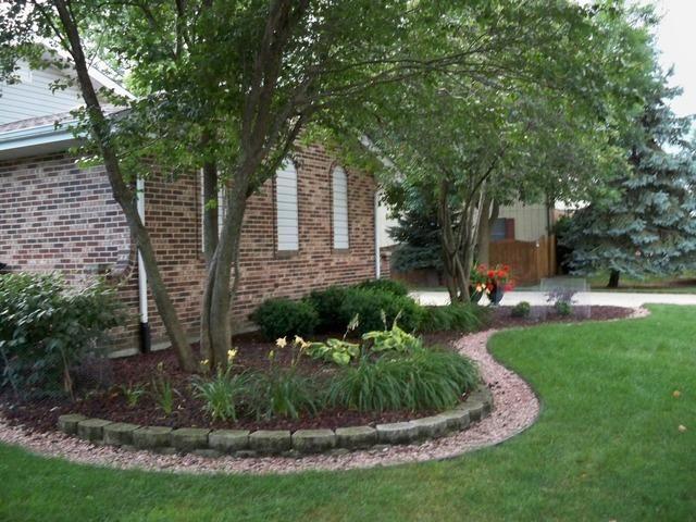 Foundation planting landscaping ideas pinterest for Foundation planting plans