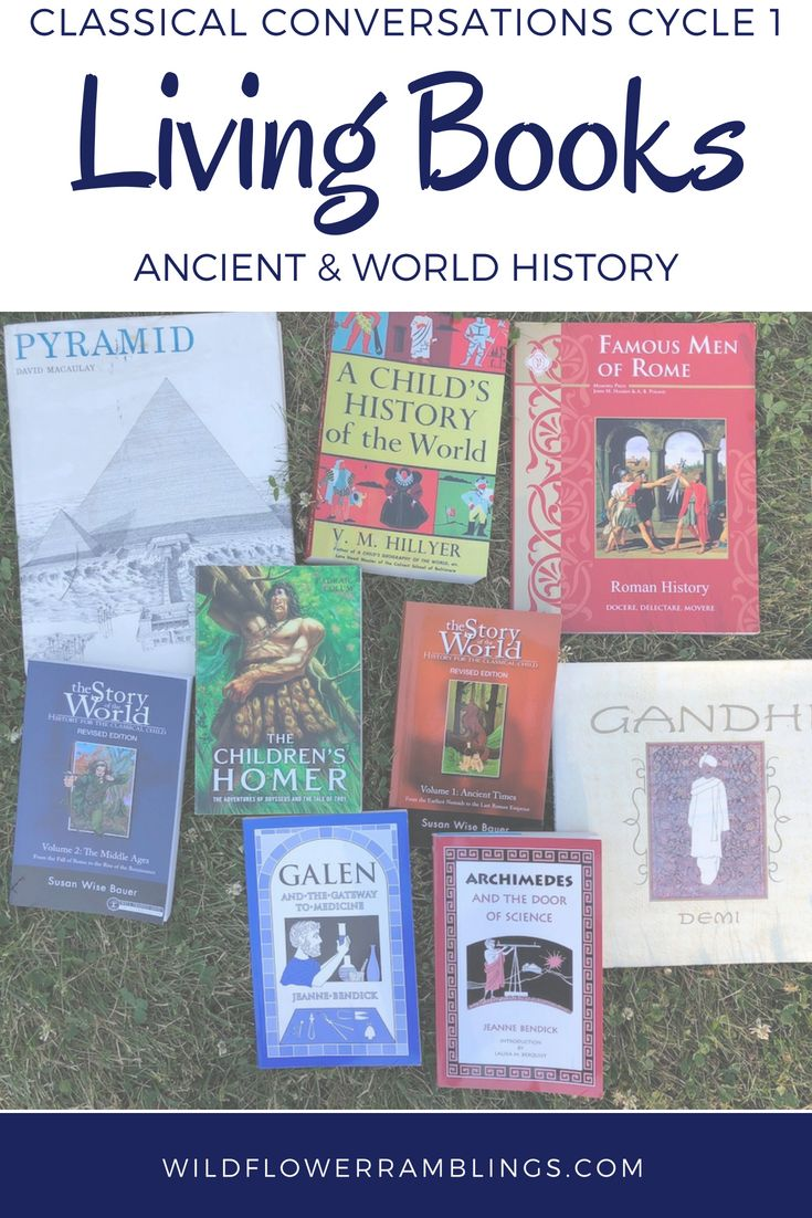 Residing Books for Historic & World Historical past: Classical Conversations Cycle 1