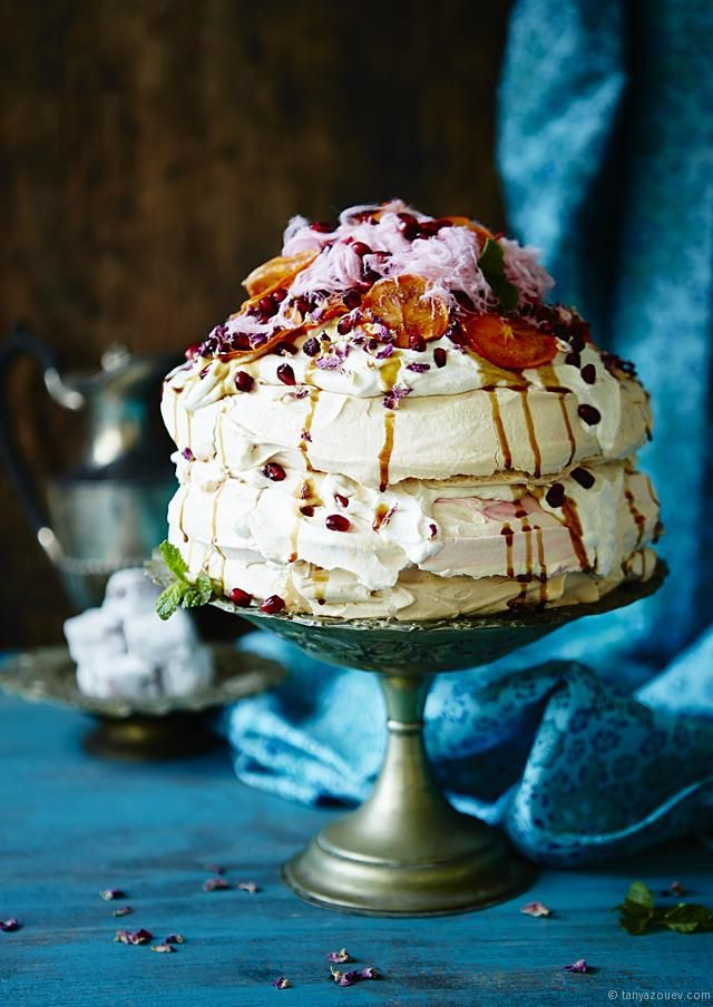 The Sultan's Pavlova (The Ottomans Come Down Under) | Tanya Zouev, The Cook Who Knew Nothing.