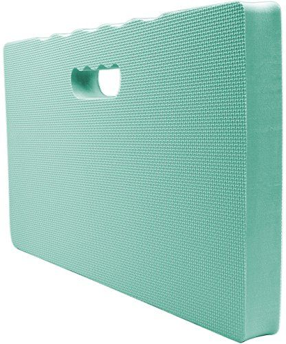 Sorbus Kneeling Mat, with High Density Foam 1 ½ inches Thick, For Kneeling or Sitting, Indoor/Outdoor, Perfect for Gardening, Household Chores, Exercise, Yoga, Floor Repairs, Baby Bath Kneeler (Teal)  PREMIUM KNEELING MAT (TEAL) - Multi-purpose mat for kneeling or sitting reduces pain and provides comfort from hard surfaces  INDOOR/ OUTDOOR - Ideal for gardening, camping, sporting events, auto repairs, stadium seating - Kneeling pad for bath time, household chores, floor exercises, yog...