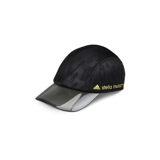 Black Run Cap - Adidas By Stella Mccartney Official Online Store - FW 2016 - 2017
