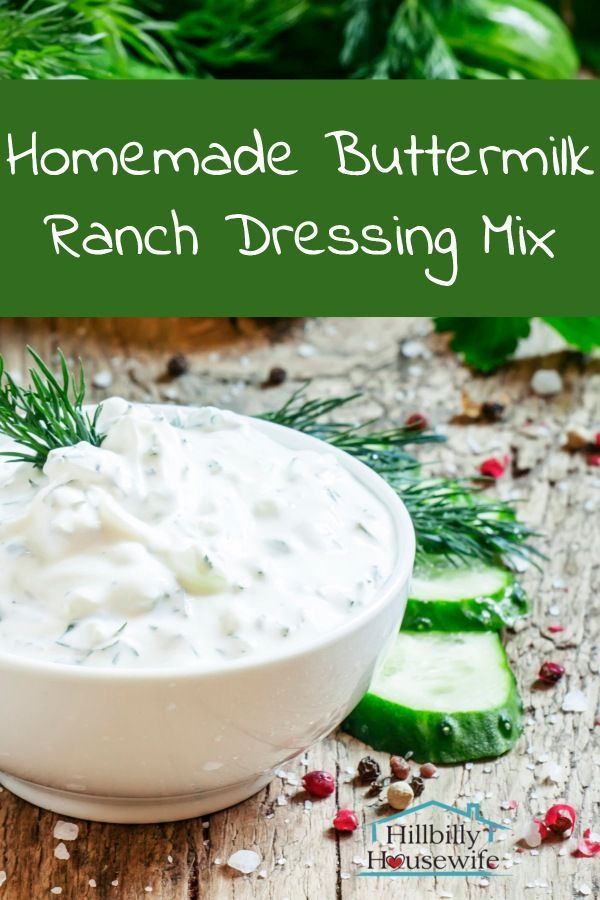 Buttermilk Ranch Dressing Mix Recipe Hillbilly Housewife Buttermilk Ranch Dressing Mix Ranch Dressing Mix Recipe Buttermilk Ranch Dressing Mix Recipe