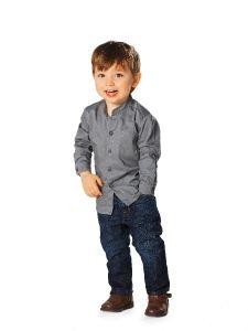 Burda Style: Kinder - Jungen - Gr. 92 - 188 - Hemden & Polos - Jungen-Hemd - Stehkragen  8.90€