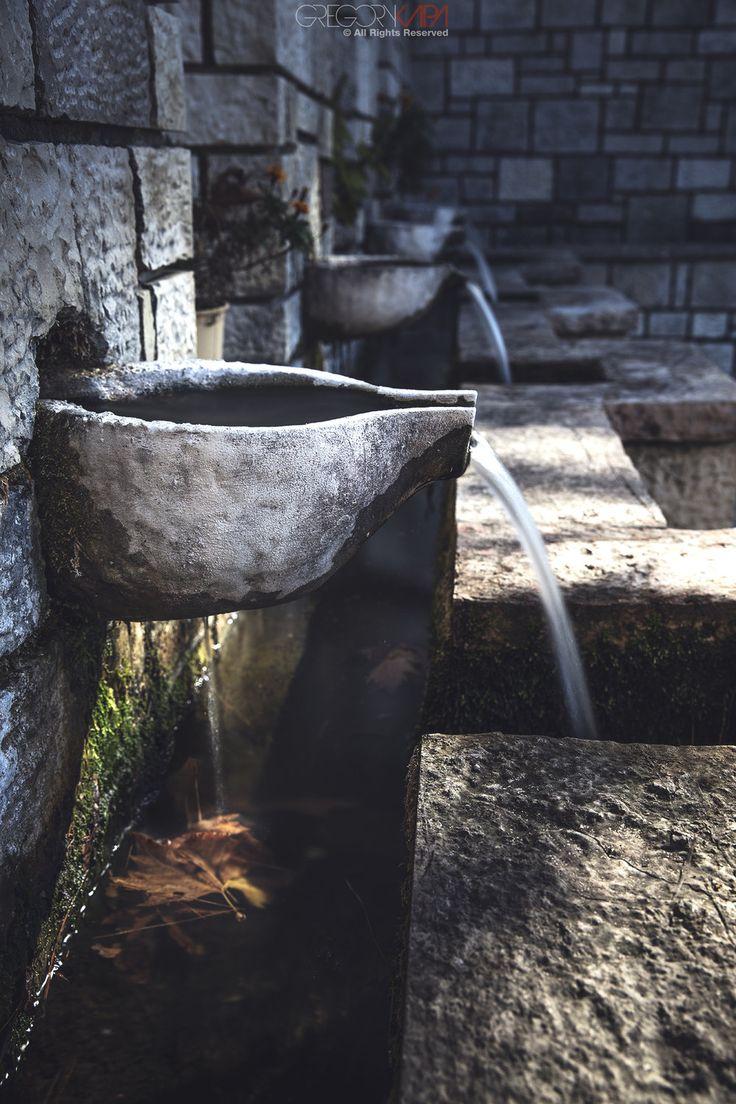 Water sources at Keramitsa Greece