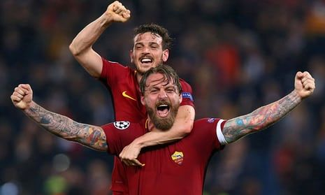 Daniele De Rossi has been at Roma his entire career
