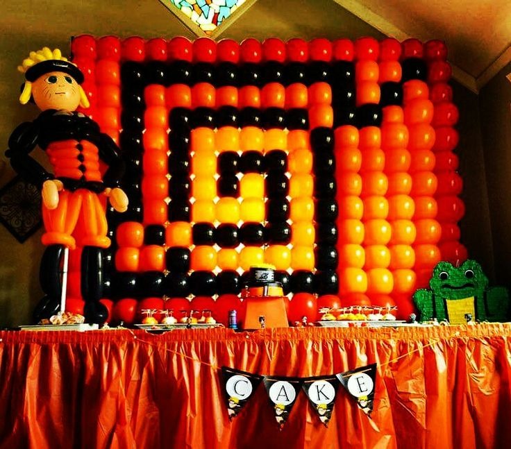 136 best images about naruto birthday party ideas on