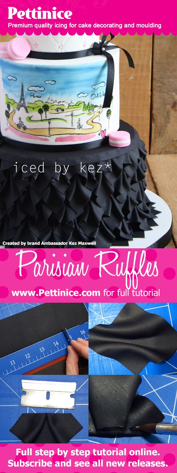 Pettinice brand Ambassador Kez Maxwell shows you step by step how to make these…