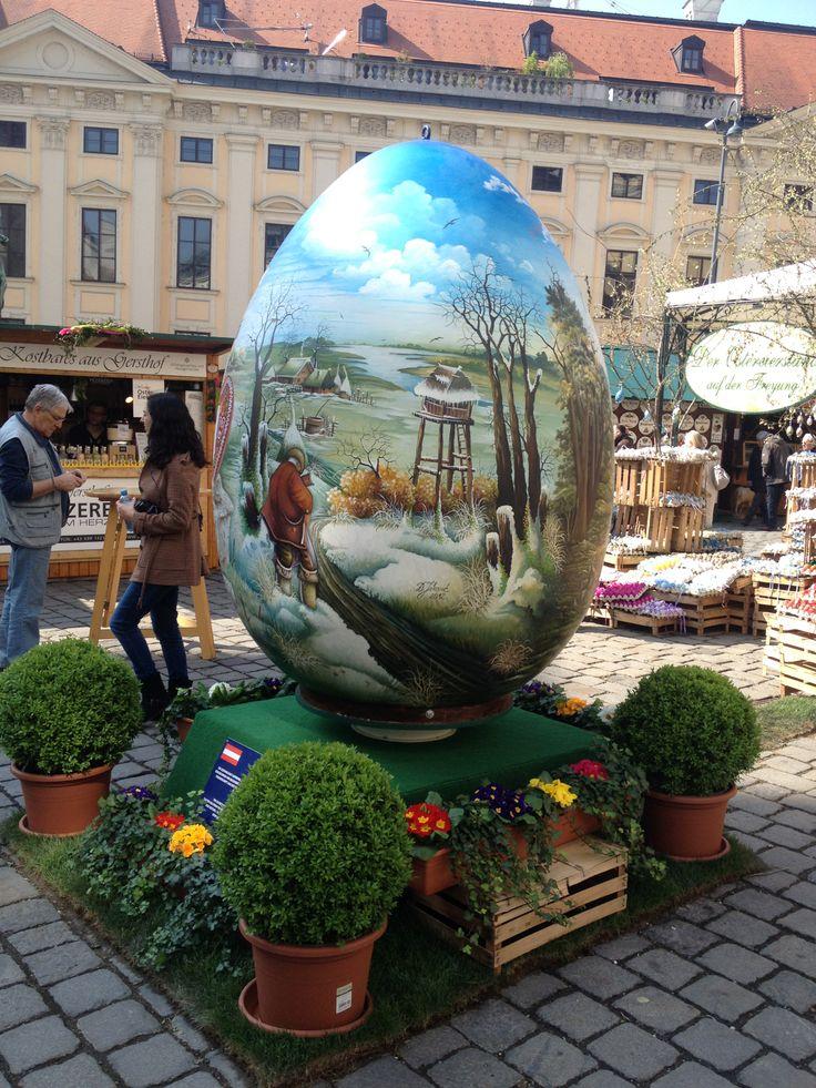 Easter Market - Freyung, Vienna