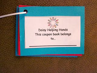 Troop 1138: Daisy Friendly and Helpful: Helping Hands Coupon Book