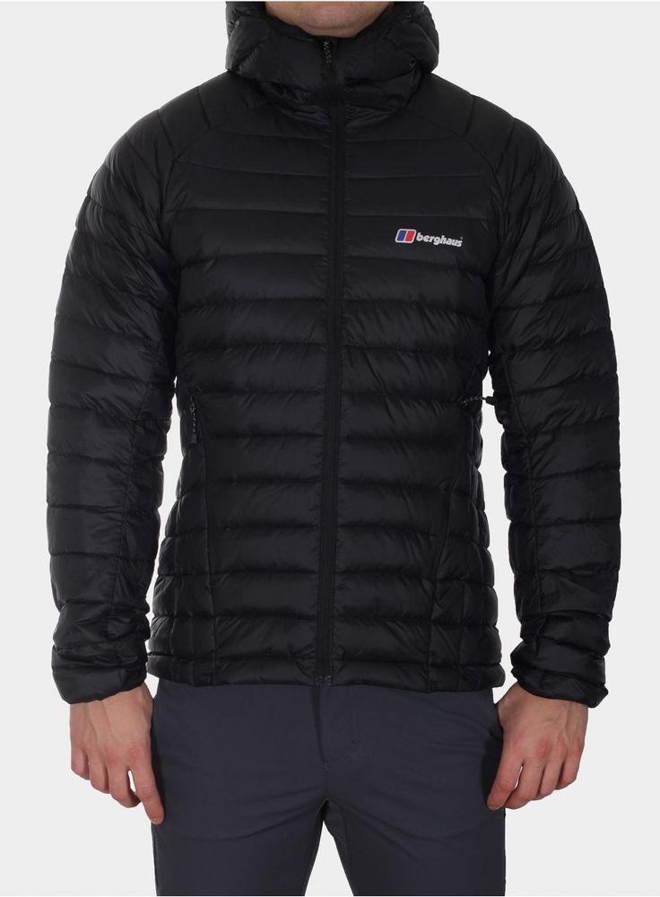 999,00 649,35 ZŁ Kurtka Berghaus Furnace Hooded Down Jacket - black/