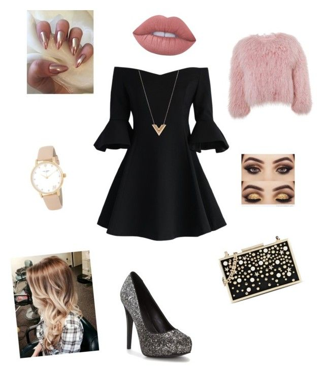 """passagem de ano na discoteca"" by leticiaafonso-b on Polyvore featuring Chicwish, Charlotte Simone, Karl Lagerfeld, Louis Vuitton, Kate Spade and Lime Crime"