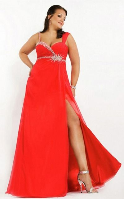 1000  images about Red Formal Dresses on Pinterest  Chiffon ...