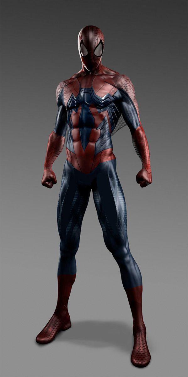 THE AMAZING SPIDER-MAN 2 - Alternative Suit Designs