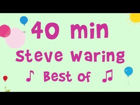(9) Steve Waring - 40 min de musique - 12 chansons incontournables - YouTube