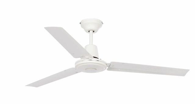 Ventilador de techo blanco tres aspas #ventiladores #decoracion #verano #climatizacion #calor #ventilacion #diseño #aire