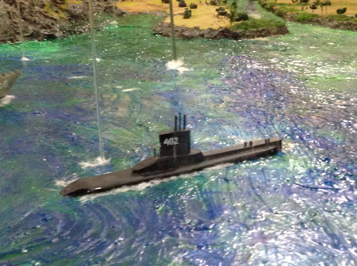 1/72 Indonesia sub marine TNI AL in Kementrian dan Pertahanan Diorama
