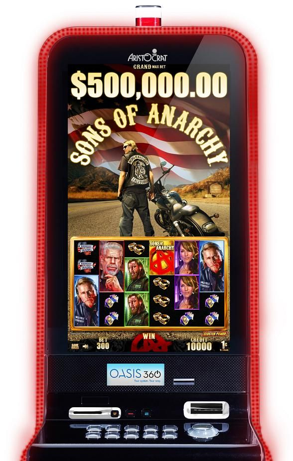 """Aristocrat Unveils """"Sons of Anarchy"""" Slot Game"""