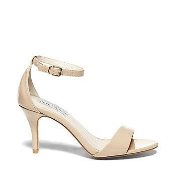 SILLLY, Steve Madden in Blush Patent, only 3 inch heel!