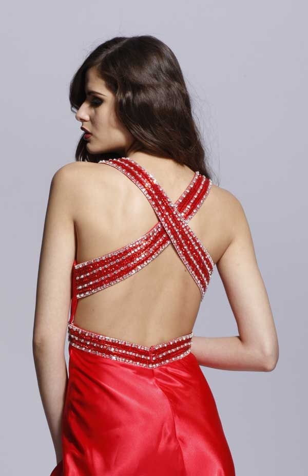 10 Best images about RED -- DRESSES on Pinterest - Cut out prom ...