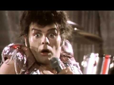 gary glitter hello, hello i'm back again.  If Gary Glitter had been around in Jesus' time perhaps Jesus could have covered this song?