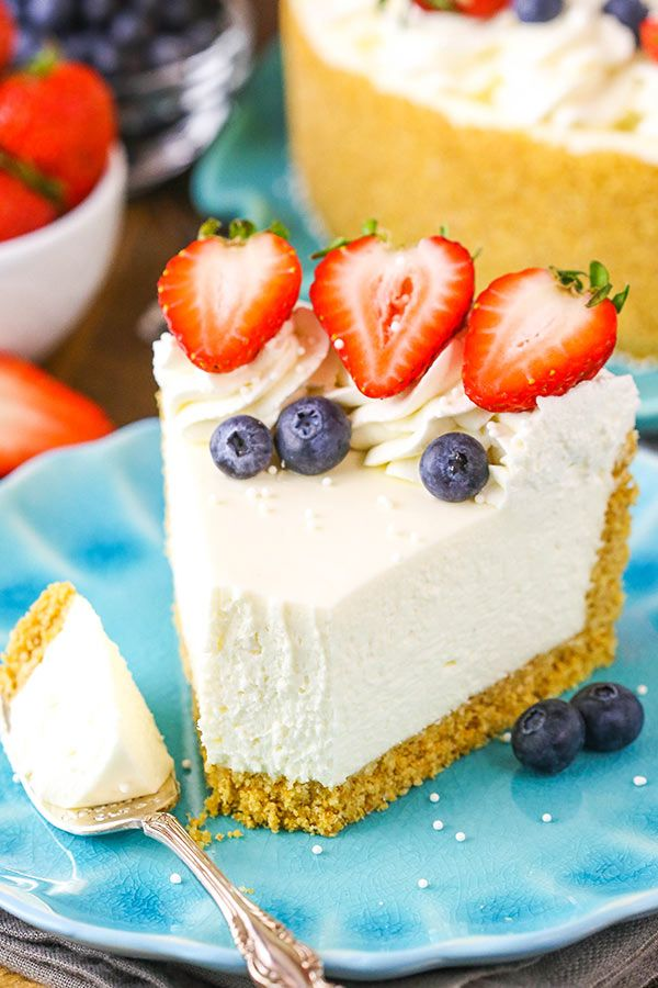 The Perfect No Bake Cheesecake Recipe No Fuss Easy Cheesecake Recipe Best No Bake Cheesecake Easy Cheesecake Recipes No Bake Vanilla Cheesecake