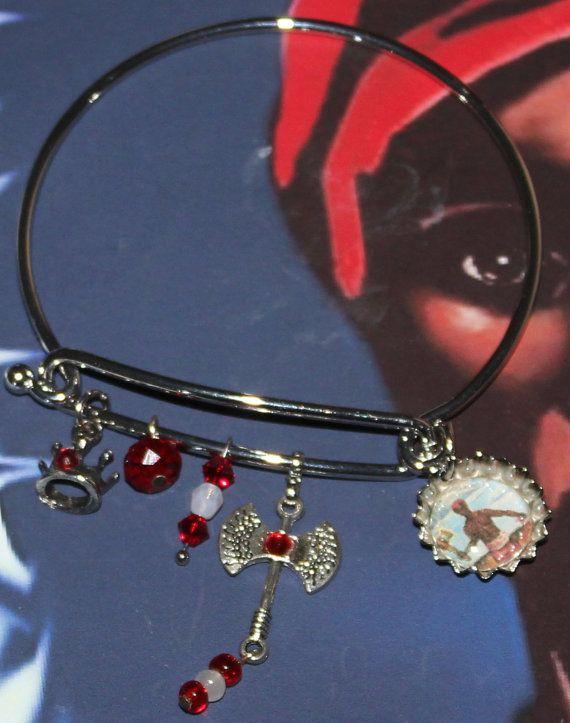 Chango Shango Orisha modern bracelet by ModernOrisha on Etsy