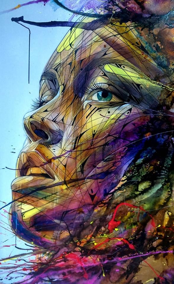 Great French Street Artist: Hopare #streetart                                                                                                                                                                                 Plus