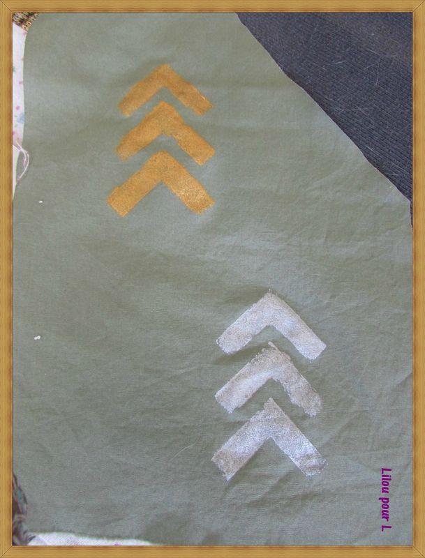 Peindre sur textile à l'Acrylique