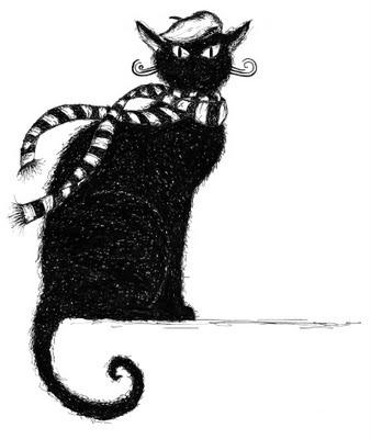 mon chat noir, Inês Caraça