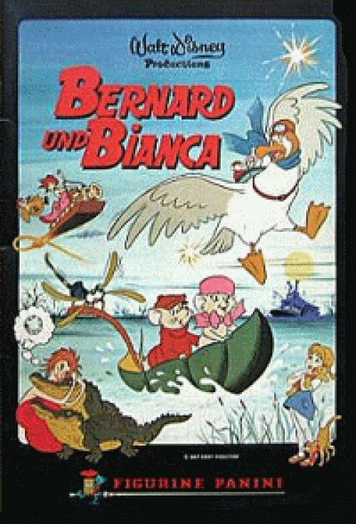 lang ist's her Bernard und Bianca Sammelalbum mit Klebebildchen....