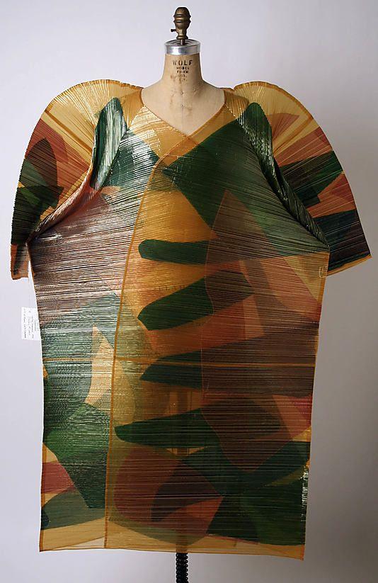 Coat Issey Miyake (Japanese, born 1938)