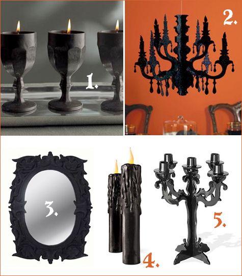 gothic glam Halloween: 1Halloweenhaunt Housewizard, Gothic Furniture, Dark Decor, Gothic Halloween Decorations, Design Pur, Gothic Glam, Glam Halloween, Horrif Finding, Halloween Dollhouses