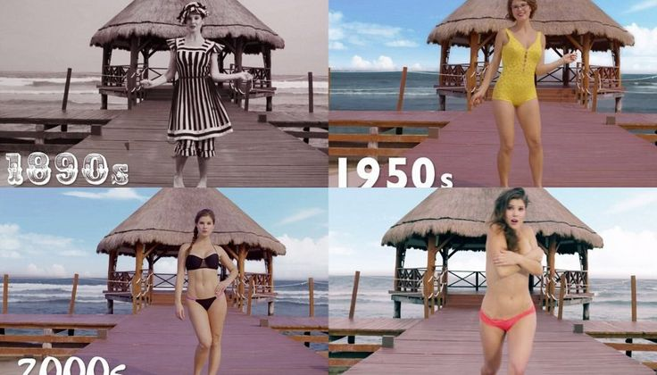 Watch: How The Bikini Evolved Over The Past Century!