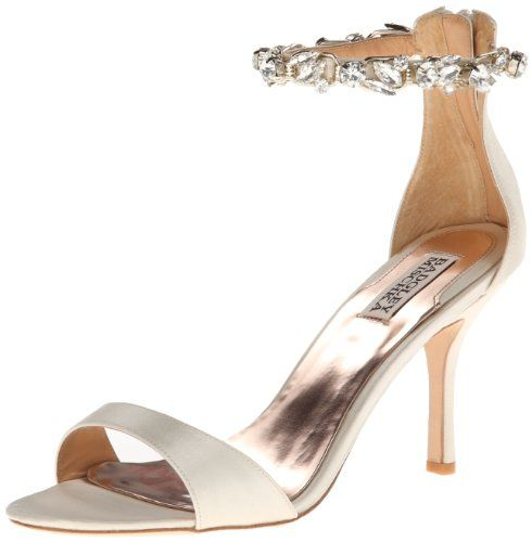 Badgley Mischka Women's Klark II Dress Sandal,Ivory Satin,6.5 M US Badgley Mischka,http://www.amazon.com/dp/B00HF5PCYC/ref=cm_sw_r_pi_dp_dwSttb1PGSH34RQS