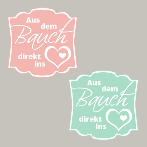 Freebie, Aus dem Bauch direkt ins Herz, Baby, Geburt, Stampin´Up! Printable, Designeretikett, Stanze, Stempeln, Craft, basteln, pattern, punch, stampin https://www.facebook.com/Colorspell