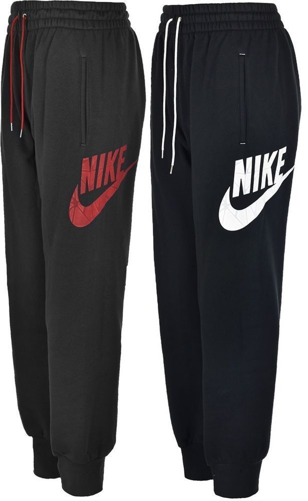 Nike Mens Cuffed Fleece Joggers Track Sweat Jogging Pants Tracksuit Jog Bottom in Sporting Goods, Fitness, Running & Yoga, Fitness Clothing & Accessories | eBay