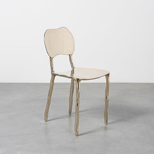 Image result for caly dining chair bronze