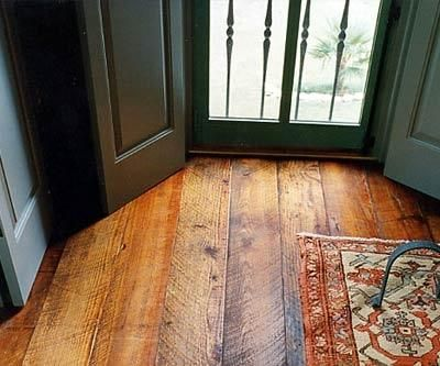 wood-flooring rough sawn wide planks Another cool floor I LOVE!!