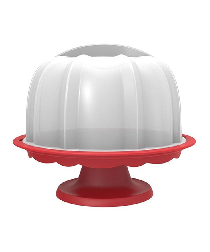 Love this bundt cake stand by nordic ware on zulily