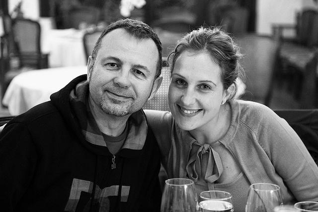 Nuestra directora de MK y Comunicación con un gran amigo y profesional.El realizador Félix Ángulo.