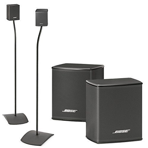 Bose Virtually Invisible 300 Wireless Surround Speakers w UFS20 Floor Stands  Bundle >>> Check this awesome product by going to the link at the image. Note: It's an affiliate link to Amazon