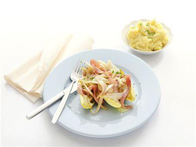 MAGGI > Recept > Gevulde witlof met aardappelpuree