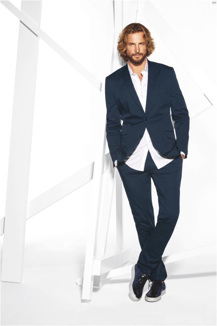 Gabriel Aubrey Stars in Macys INC Spring 2015 Campaign
