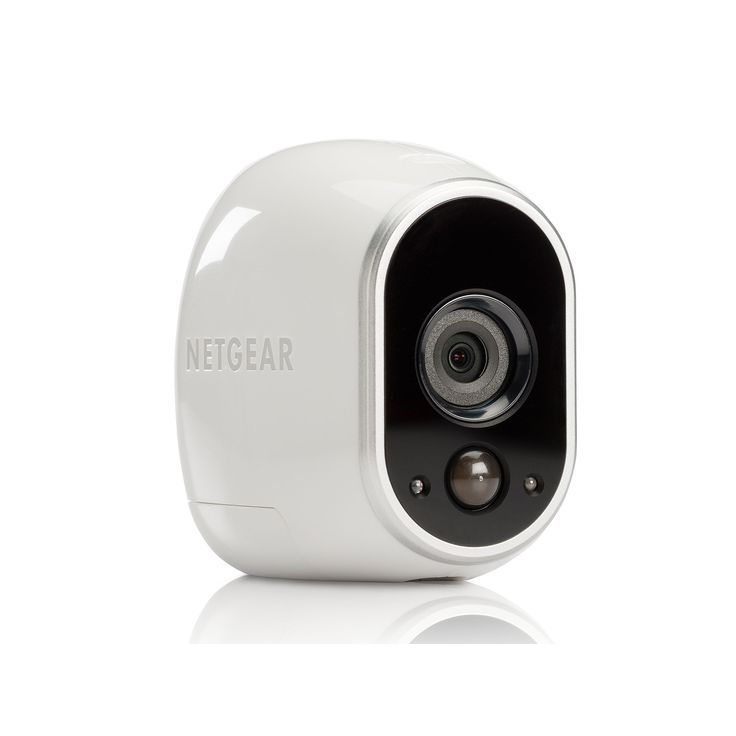 Netgear Arlo Smart Home Indoor Outdoor Wireless HD Security Camera Set, White
