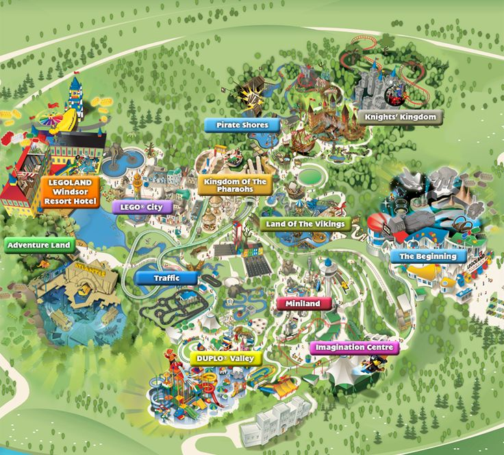 LEGOLAND Windsor Resort is a theme park dedicated to ...